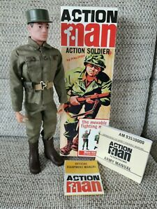 40th Vintage Action Man Soldier
