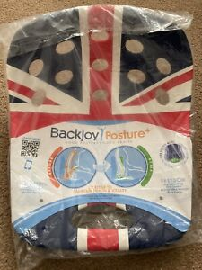 Backjoy Posture Plus Union Jack 🇬🇧 Brand New,One Size Fit Most. Fits 55-135kg