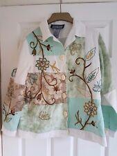 "Indigo Moon Jacket Size XS - Mint Patchwork & Tapestry STUNNING - 40"" Bust"