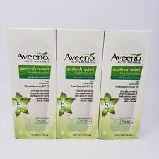 Lot of 3 Aveeno Positively Radiant Targeted Cream Dark Spot Corrector Exp 6/2020