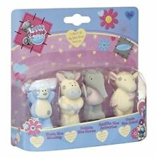 TATTY TEDDY MY BLUE NOSE FRIENDS INCLUDES 4 FIGURES COCO, BOBBIN, SNUFFLE, OASIS