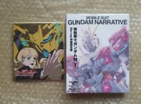 Mobile Suit Gundam Narrative NT Limited Edition 2 Blu-ray CD Booklet Shikishi