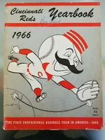 1966 Cincinnati Reds Yearbook First Edition Vintage Baseball MLB