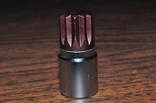 "16MM 12 Points Stuby Short Allen Socket 3/8 Drive 1-1/2"" Overall Length Vim"