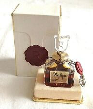 Vintage Antique Perfume Scent Bottle All Glass Boxed Replique French