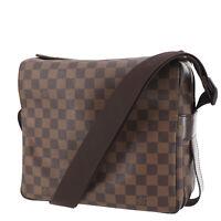 LOUIS VUITTON Naviglio Shoulder Bag Brown Damier N45255 France Auth #PP499 O