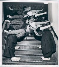 1944 Dutch Christmas Folk Dance at Chicago Museum Science Industry Press Photo
