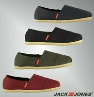 Mens Jack And Jones Slip On Tonal Espadrille Canvas Shoes Sizes from 6 to 11