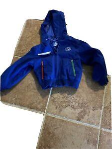Izod Lacoste Boys Fully Lined Windbreaker Size 5 Blue