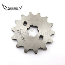 420 14T 17mm Front Chain Sprocket Gear For 50 70 90 110 125cc ATV Pit Dirt Bike