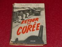 RETOUR DE COREE EO 1951 - 4 CORRESPONDANTS DE GUERRE/ DE PREMONVILLE BROMBERGER