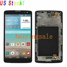 Black LCD Touch Screen Digitizer Assembly + Frame For LG G Vista D631 VS880 US