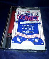 Vintage 1980s Official Halley's Comet Observation Kit Tasco