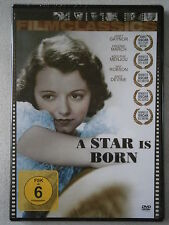 """DVD """"A Star is born"""" Janet Gaynor, Fredric March, Adolphe Menjou - NEU!"""