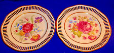 SET OF 2 - HMS ROYAL HANOVER BAVARIA GERMANY COLLECTOR RETICULATED PLATES