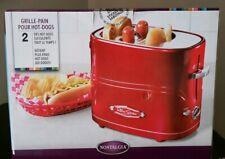 Nib Nostalgia - Retro-Red - Retro Series Pop-up Hot Dog Toaster