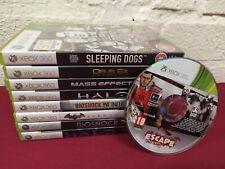 Action & Abenteuer Bundle Spiele für Xbox 360 9 verschiedene Titel