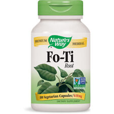 Nature's Way Fo-Ti Root Dietary Supplement Premium Herbal - 610 mg/100 Capsules