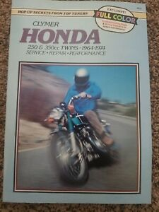 64-74 Honda CB350 CL350 SL350 CB250 CL250 Clymer Service Manual New