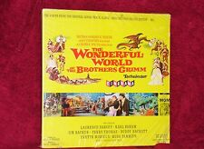 OST LP BOX SET W/ BOOK WONDERFUL WORLD OF BROTHERS GRIMM 1962 SEALED NOT CUT OUT