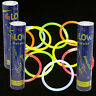 "300 8"" Premium Glow Sticks Bracelets Necklaces Party Favors Rally Raves EDC"