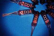 6pcs IV-6 (ИВ-6) NIXIE TUBES, RARE DISPLAY INDICATOR DIGITS, VINTAGE LAMP, CLOCK