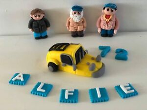 Only Fools and Horses Del Rodney personalised handmade edible 3D cake topper