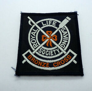 Rare Vintage Scuba Diving Patch Royal Life Saving Society Bronze Cross