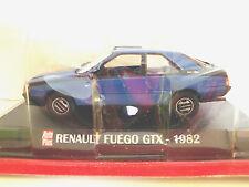 1/43 . RENAULT  Fuégo GTX de 1982     AUTO PLUS