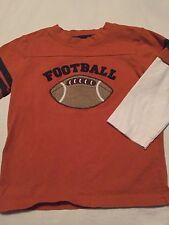 Gymboree Football Captain Boys Long Sleeve Shirt Size 18-24 Months