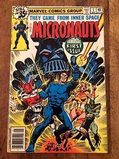 Micronauts #1 VF/NM 1st Baron Karza Origin 1978 Marvel Glossy KEY See My Store
