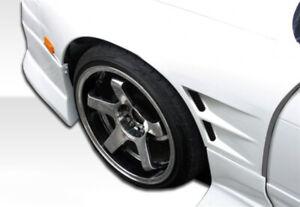 89-94 Fits Nissan 240SX D-1 Duraflex Body Kit- Fenders!!! 103546