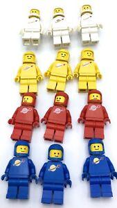 LEGO SPACE MINIFIGURES VINTAGE CLASSIC ASTRONAUT PEOPLE BLACKTRON MTRON U PICK!
