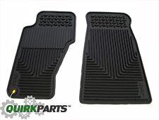 99-04 Jeep Grand Cherokee FRONT Slush Floor Mats MOPAR GENUINE OEM BRAND NEW