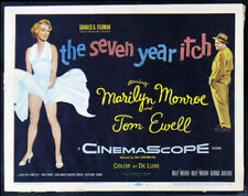 SEVEN 7 YEAR ITCH * CineMasterpieces MARILYN MONROE MOVIE POSTERS LCS