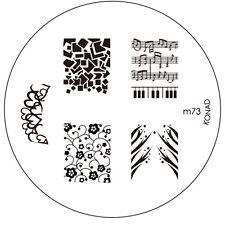 Konad stamping stencil m73 NAILART NUOVO