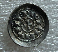 1039-1123 MILAN HENRY III-V SILVER DENARO SCODELLATO XF RARE