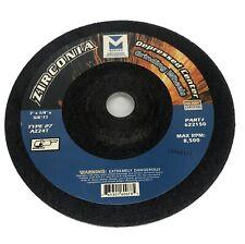 """Mercer Abrasives Zirconia Depressed Center Grinding Wheel 7"""" x  1/4"""""""
