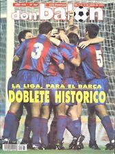 Revista DON BALON con doblete histórico del FC Barcelona 1992, Liga & champions!