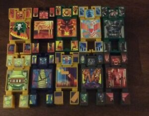 Hasbro 2002 Nak Nak Stacking Battle Figures Toys Only 10 PCS