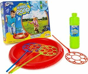 PicClick UK BUBBLE POND LARGE Bubbles Wands Fun-Tastic Kids Fun Summer Water