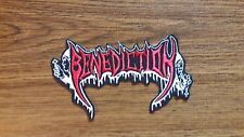 BENEDICTION,IRON ON EMBROIDERED PATCH