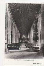 St Wulframs Church Grantham RP Postcard 323a
