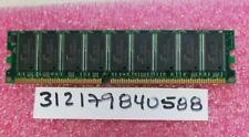 512mb 2rx8 ddr1 pc pc3200e ddr1-400mhz  3200e 400 184pin dimm ecc dual rank 32x8