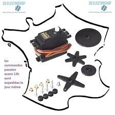 Servo SG-5010 8kg/cm RC, 3D print, modelisme