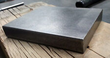 "5x4 STEEL BENCH BLOCK JEWELERS, Blacksmiths, METAL WORKING 3/4"" Thick"