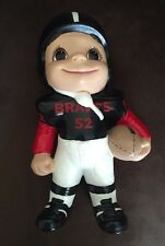 Very Cute Atlantic molds ceramic football player smiley kid Braves 1981 NFL NCAA