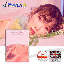 TAEYEON 1st Album Deluxe Edition 'My Voice' Blossom Ver. K-Pop CD