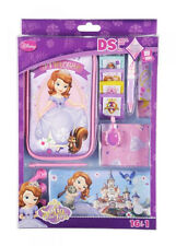 Sofia The First 3DS XL DSi XL / DSi Accessory Kit - Case Headphones, Stickers,