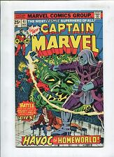CAPTAIN MARVEL #41 - HAVOC ON HOMEWORLD! - (7.0) 1975